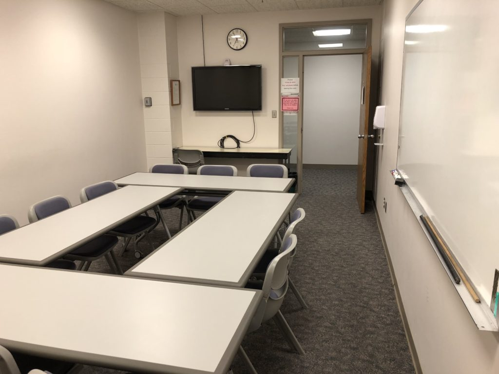 Sex Addicts Anonymous Meeting Room in Iowa City IA at Mercy Hospital